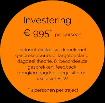 Online training telefonische acquisitie, kosten