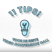 Tips voor een succesvolle video conference call